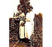 JWFrench Collection Vintage Range Sisters Photographic Print