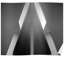 Tent natural modern window lighting ~ diptych Poster