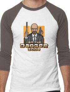 I am The Danger Zone Men's Baseball ¾ T-Shirt