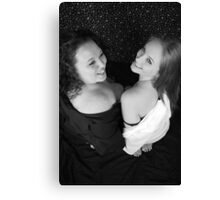 Introducing Ashley and Brandy Canvas Print