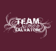 Team Damon Salvatore - White logo by missemilyellen