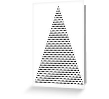 666 triangles Greeting Card