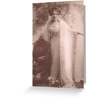 JWFrench Collection Vintage Range The First Diva Greeting Card