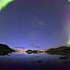 Aurora Panorama by Frank Olsen