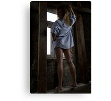 Mysterious woman 1 Canvas Print