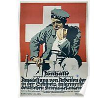 Tonhalle Ausstellung von Arbeiten der in der Schweiz internierten deutschen Kriegsgefangenen 1178 Poster