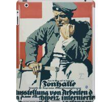 Tonhalle Ausstellung von Arbeiten der in der Schweiz internierten deutschen Kriegsgefangenen 1178 iPad Case/Skin