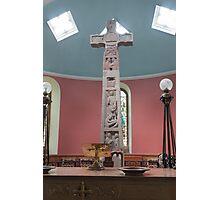 Religious, monument, Ruthwell Runic Cross Photographic Print