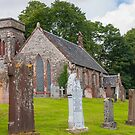 Building, Church, Corsock, Dumfriesshire, Scotland by Hugh McKean