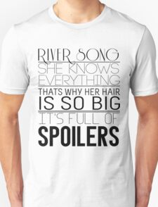 River Song (Doctor Who) Unisex T-Shirt
