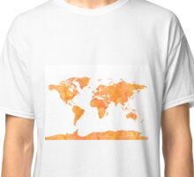World map Mango Classic T-Shirt