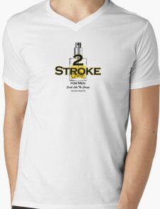 2 Stroke for men Mens V-Neck T-Shirt