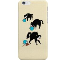 Coffee Cat iPhone Case/Skin