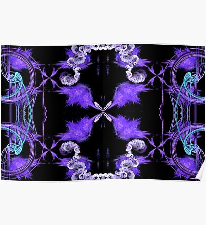 Lavender Labryinth Poster