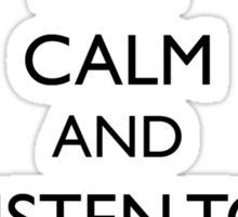 Lady Gaga Keep Calm and Listen to Artpop Sticker
