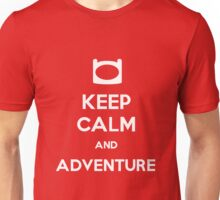 Keep Calm and Adventure! Unisex T-Shirt