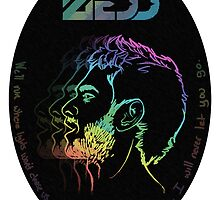 ZEDD spectrum profile by Kaity Elliott