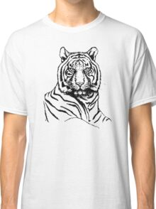 Portrait of amur tiger Classic T-Shirt
