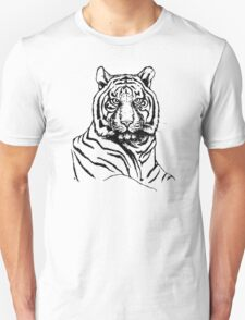 Portrait of amur tiger Unisex T-Shirt
