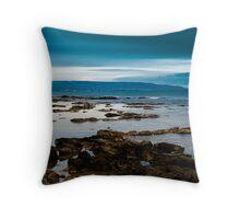 blu summer Throw Pillow