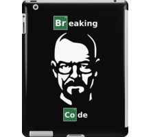 Breaking Code - Breaking Bad Parody Design for Programmers iPad Case/Skin