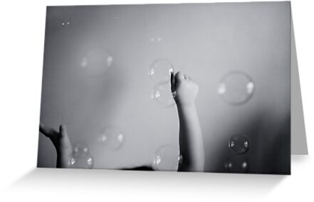 Catching Bubbles by sandra arduini