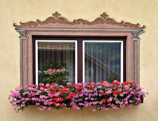 Windows of Lungau, Austria. by Lee d'Entremont