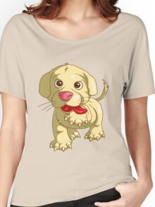 playful puppy Women's Relaxed Fit T-Shirt