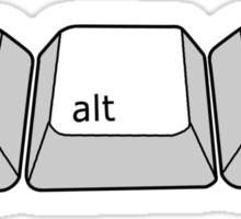 ctrl + alt + delete!!! Sticker