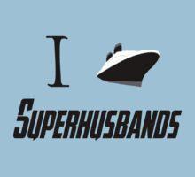 I ship Superhusbands! One Piece - Short Sleeve