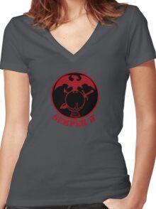 Semper π Women's Fitted V-Neck T-Shirt