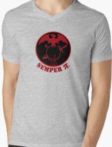Semper π Mens V-Neck T-Shirt