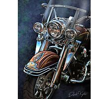 Harley Davidson Ultra Classic Photographic Print