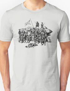Martian Mounties T-Shirt