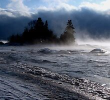 Rossport Ontario at -25 by Laura Lea Comeau