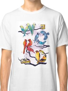 The Bird is the Word Classic T-Shirt