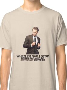The Awesomeness that is Barney Stinson Classic T-Shirt