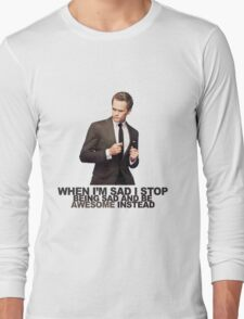 The Awesomeness that is Barney Stinson Long Sleeve T-Shirt