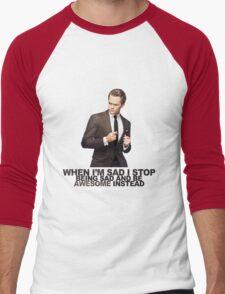 The Awesomeness that is Barney Stinson Men's Baseball ¾ T-Shirt