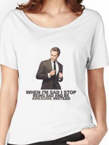 The Awesomeness that is Barney Stinson Women's Relaxed Fit T-Shirt