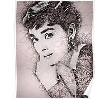 Audrey Hepburn #2 Poster