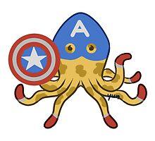 Captain Octopus by yunnn