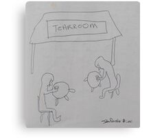 Tearroom Canvas Print