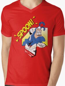 SPOON! Mens V-Neck T-Shirt