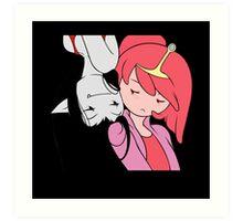 PB and Marceline Art Print