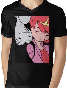 PB and Marceline Mens V-Neck T-Shirt