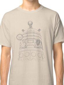 Simplistic Dalek Classic T-Shirt
