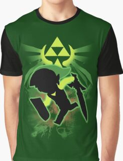 Super Smash Bros. Toon Link Silhouette Graphic T-Shirt
