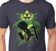 Super Smash Bros. Toon Link Silhouette Unisex T-Shirt