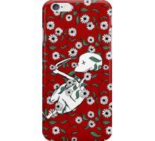 Skeleton Floral iPhone Case/Skin